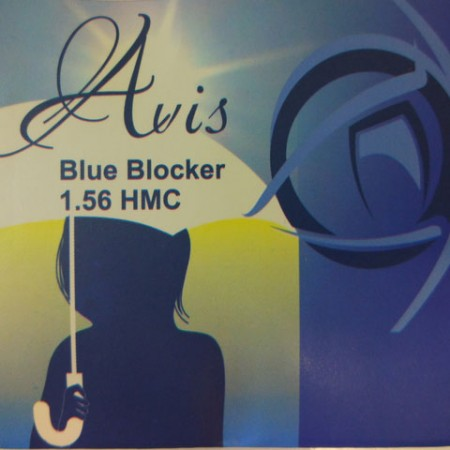 Линза Blue Blocker 1.56 HMC +6.00...-8.00 д.70